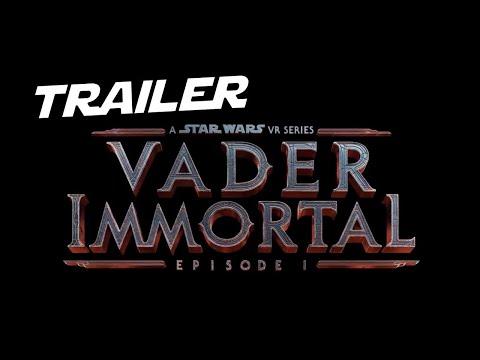 Vader Immortal  Star Wars VR Trailer Oficial   Celebración Star Wars
