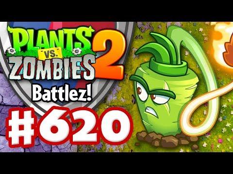 BATTLEZ! Wasabi Whip Epic Quest! - Plants vs. Zombies 2 - Gameplay Walkthrough Part 620
