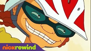 Otto Goes Down Bruised Man's Curve | Rocket Power | NickRewind