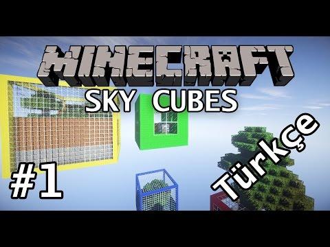 Minecraft: Sky Cubes #1   Türkçe