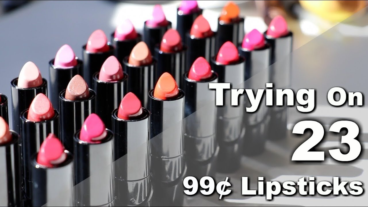 Trying On Every Wet n Wild Silk Finish Lipstick | Bailey B