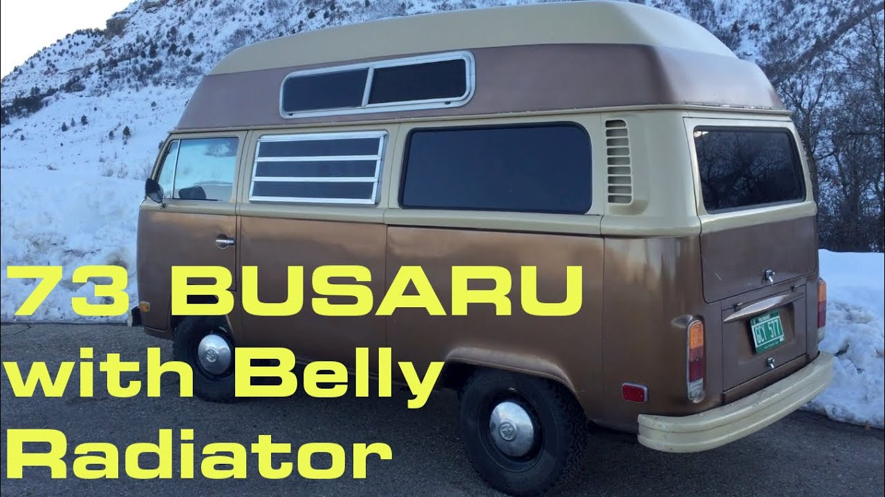 73 Busaru With Belly Radiator  YouTube