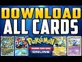 How to Download All Cards in Pokemon TCG Online