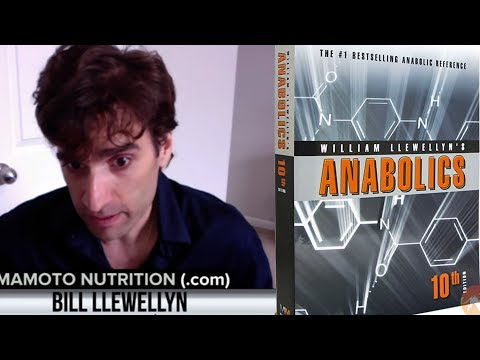 Anabolics 2017, ROIDTEST & X-Factor | Bill Llewellyn on Live With