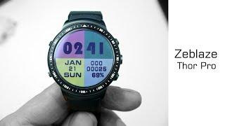 Zeblaze Thor Pro Kurztest - 86€ Android Kamera Phone Watch - Moschuss.de