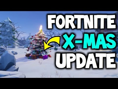 Fortnite Christmas Update Coming New Skins And Weapon Battle