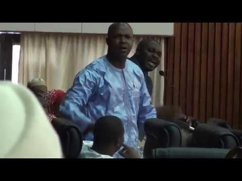 Gaoual s'attaque à Alpha Condé et les députés s'insultent: