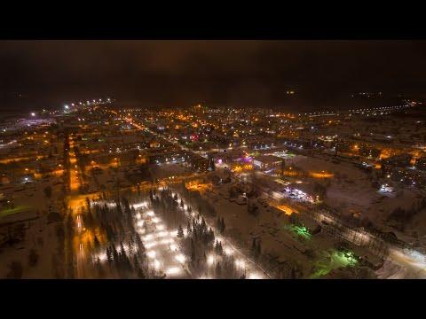 Вечерняя Печора|Ж.Д Часть|Съемка с квадрокоптера
