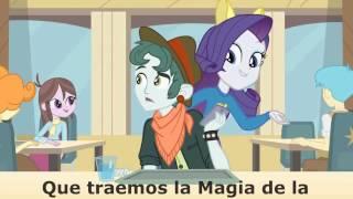 vuclip My little pony Equestria Girls Karaoke español latino canción de la cafetería