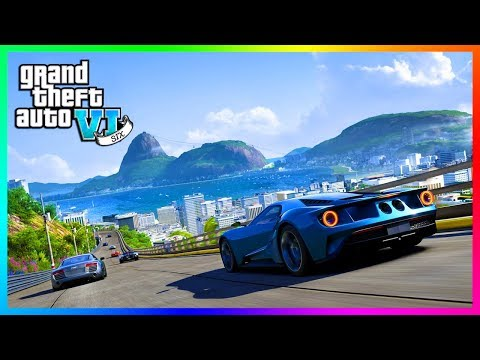 GTA 6 - Grand Theft Auto 6: AMAZING Graphics! (GTA 6)