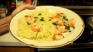 Shrimp Scampi With Angel Hair Pasta Recipe