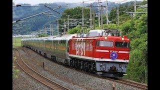 青い森鉄道 EF81形+E26形 9011レ「カシオペア紀行」 苫米地~北高岩 2019年6月23日