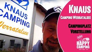 Campingplatz Knaus Campingpark Werratalsee Eschwege Hessen | Happy Camping
