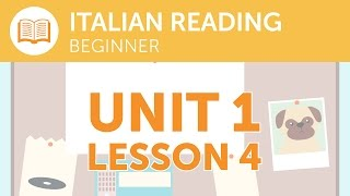 Italian Reading for Beginners - Is the Express Service Running Today?