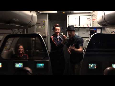Concert at 20,000 ft on Jet Blue by Louie Bello