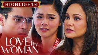 Lucy, binalaan sina David at Jia | Love Thy Woman (With Eng Subs)