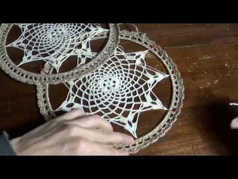 Mandala Natalizio Alluncinetto Tutorial Step Three Youtube