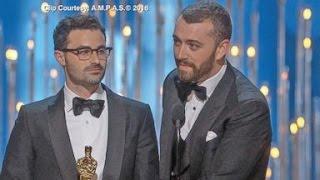 Oscars 2016 CONTROVERSY | Sam Smith Apologizes, Chris Rock vs. Jada Pinkett Smith