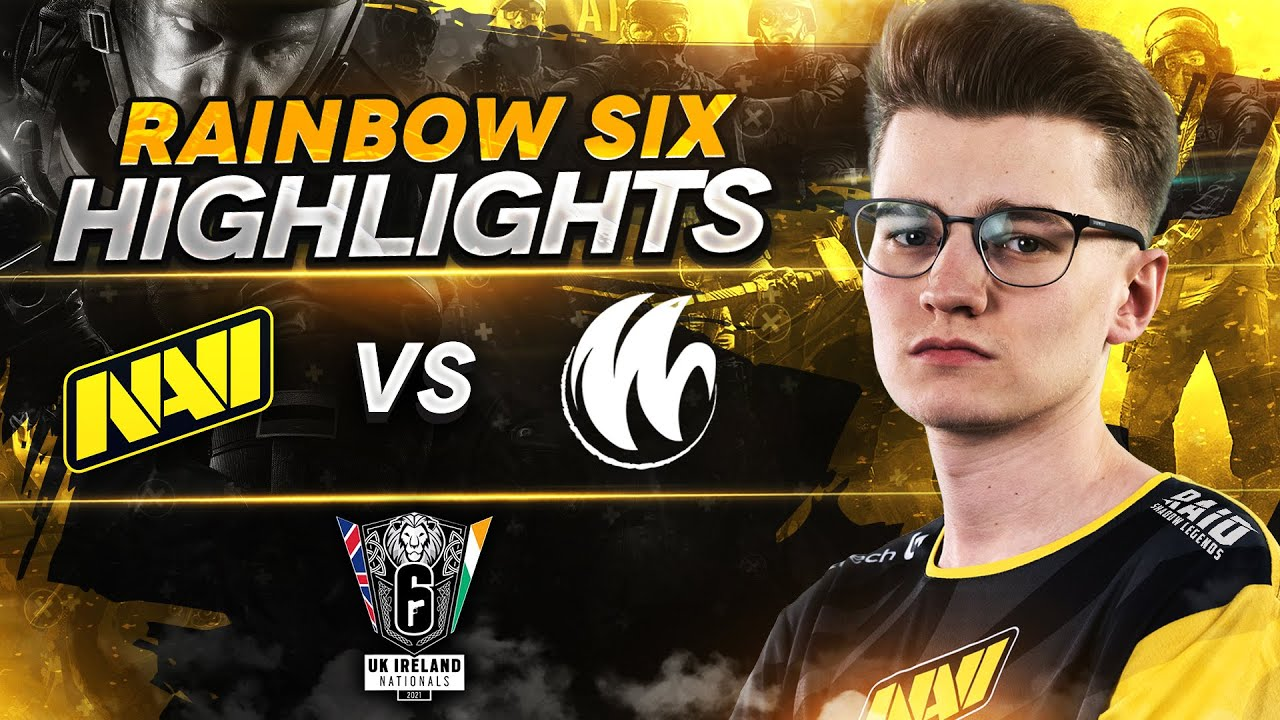 Rainbow Six Highlights: NAVI vs WYLDE @ UKIN S2