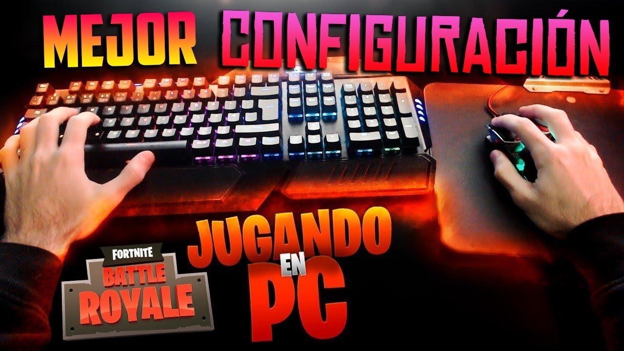la mejor configuracion de teclado raton para jugar a fortnite pc - como jugar fortnite en xbox one con teclado y mouse