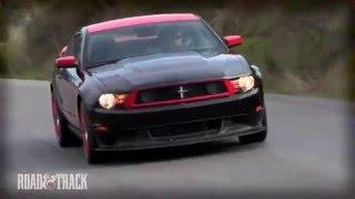 Ford Mustang Boss 302 Laguna Seca 2012 Videos