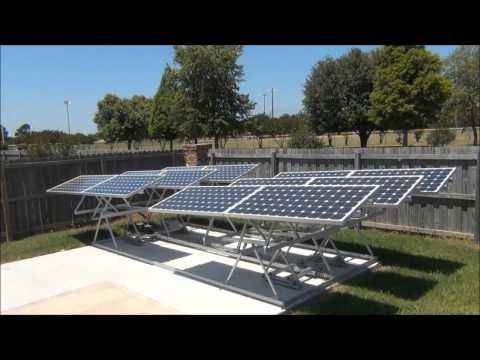 Solar Tracker System 6 Hour Time Lapse Funnycat Tv