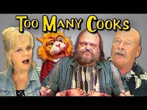 ELDERS REACT TO TOO MANY COOKS