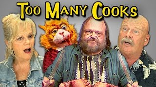 ELDERS REACT TO TOO MANY COOKS