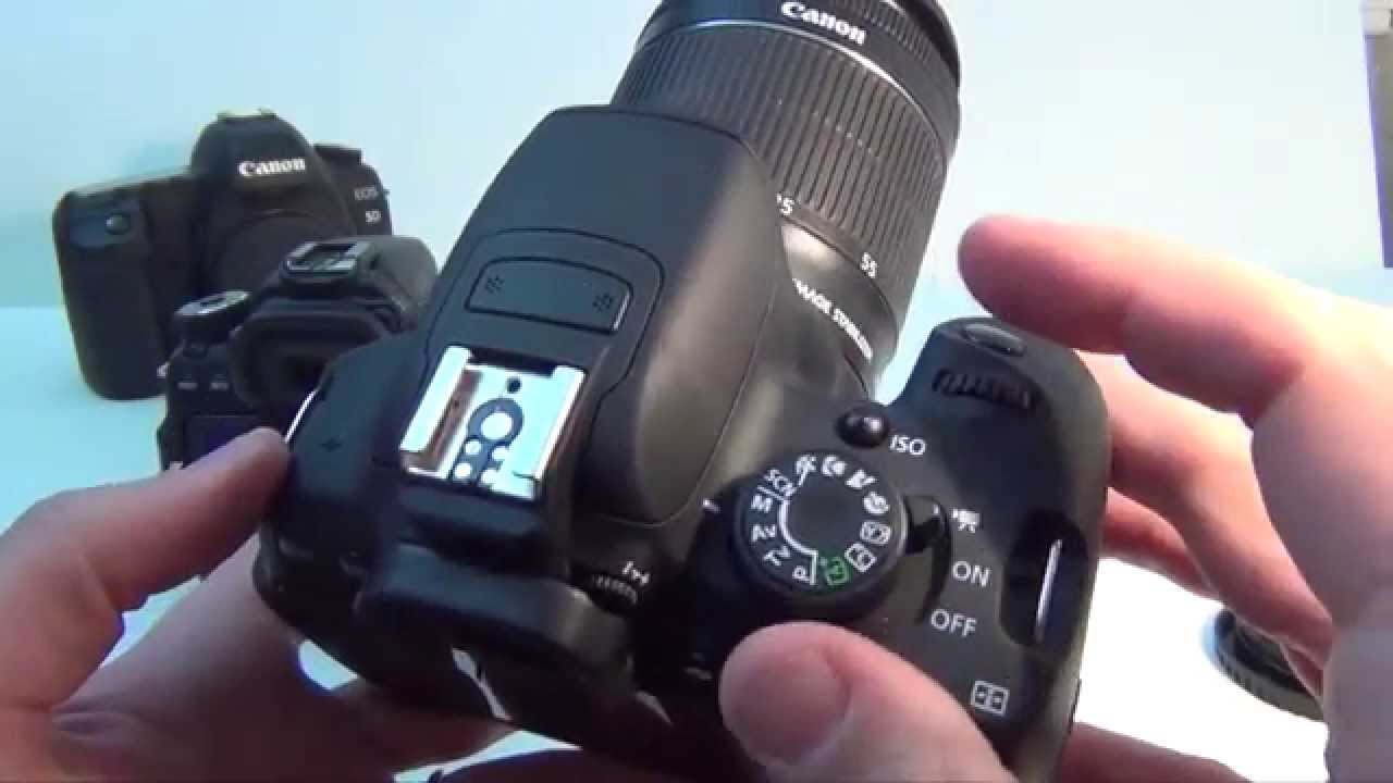 Camera Canon Eos 700d Dslr Camera Review canon eos 700d rebel t5i hands on full review youtube