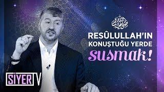 Resûlullah'ın (sas) Konuştuğu Yerde Susmak! | Muhammed Emin Yıldırım