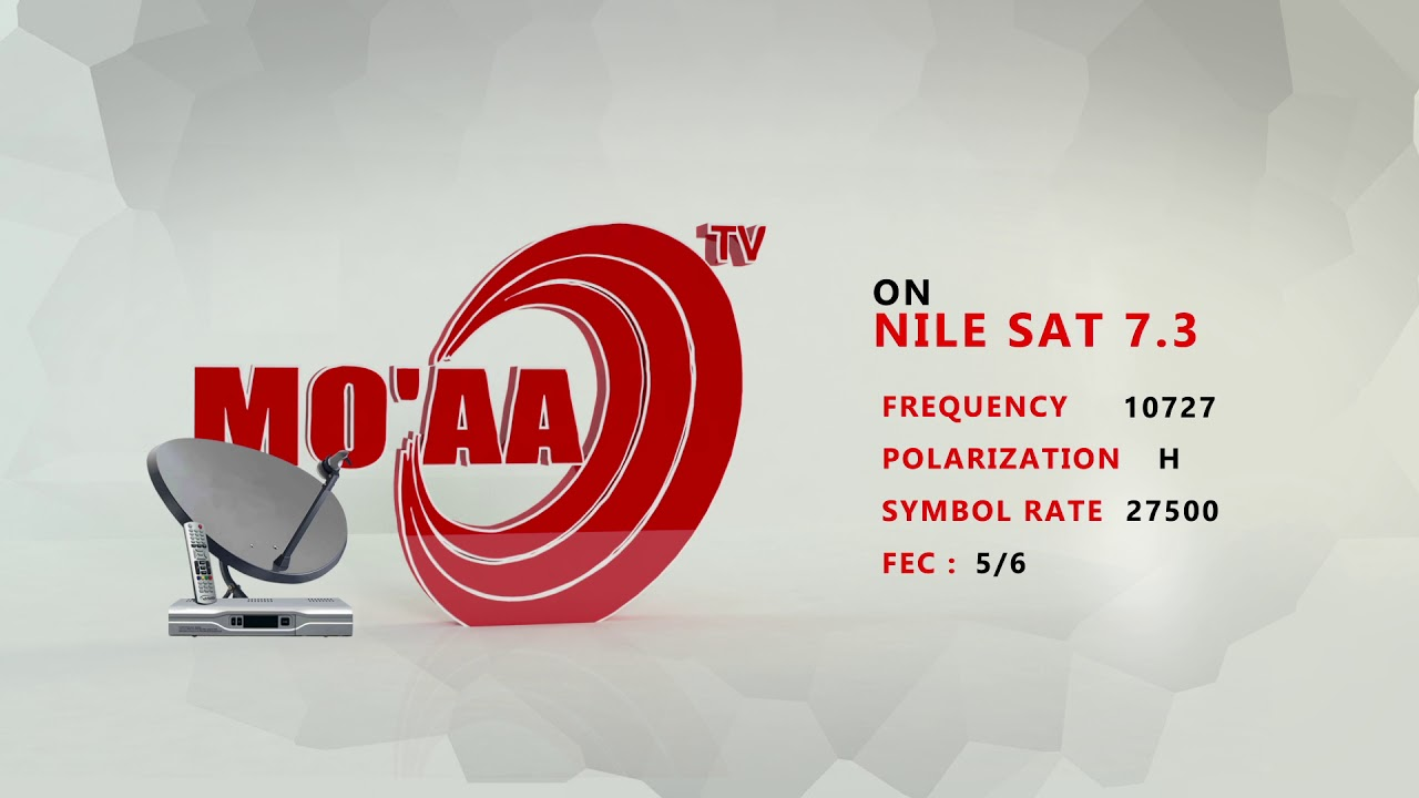MO'AA TV NEW SATELLITE FREQUENCY ADDRESS | SEARCH IT !