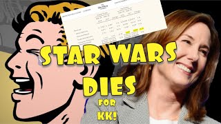 STAR WARS DIES, DISNEY PRICES HIKED TO COVER FOR KATHLEEN KENNEDY'S FAILURE!