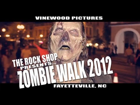 "The Rock Shop Presents... ""ZOMBIE WALK 2012"" Fayetteville, NC"
