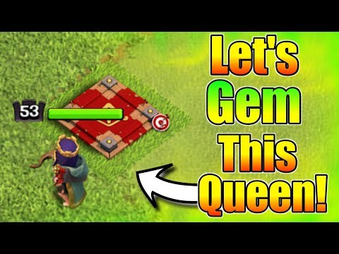 Let's Upgrade My Leve 53 Queen With 1000 Gems💞Live Stream After Long Time