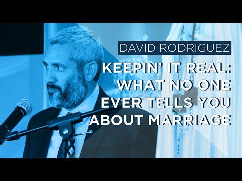 Keepin' it Real: What No one Ever Tells you about Marriage by David Rodríguez