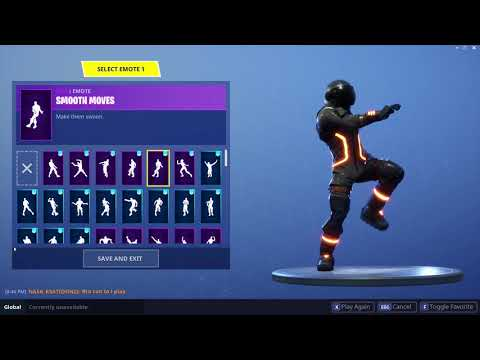FORTNITE SMOOTH MOVES EMOTE (1 HOUR)