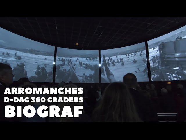 Arromanches 360 graders biograf, D-dag Normandiet