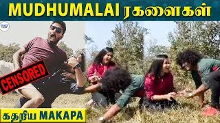 KPY Pugazh & Manimegalai's Tiger Fight | Makapa | Cooku with Comali | Vijay TV | LittleTalks
