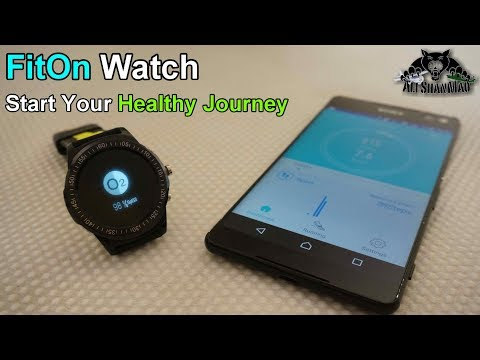 FitOn Smart Watch Start your Journey towards healthy Life Style