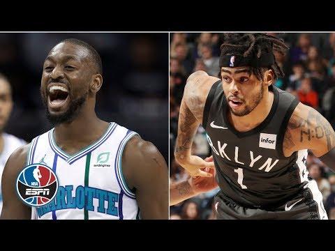 Kemba Walker, D'Angelo Russell duel in Hornets' big win | NBA Highlights