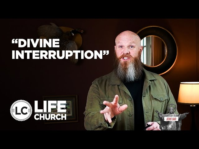 Jesus Said: Divine Interruption | Pastor Shawn Hennessy