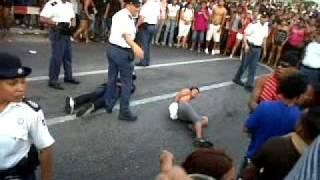 2 guy a wordo arresta na parada grandi