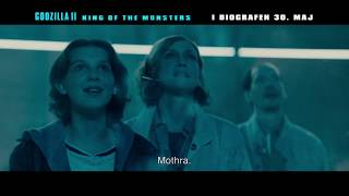 Godzilla II King of The Monsters - 30 sek. video - I biografen 30. maj