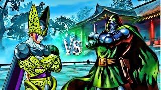 dr doom vs cell marvel vs dragonball z