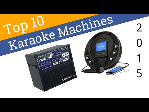 10 Best Karaoke Machines 2015