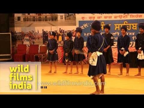 Gatka for Punjabi kids: Indian martial art