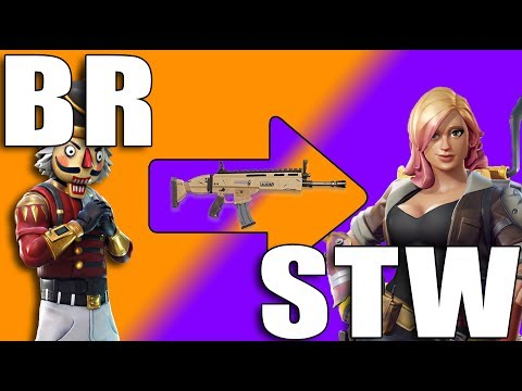 WHEN BR PLAYERS PLAY STW - Fortnite thumbnail