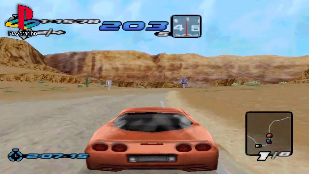 Need For Speed Iii Hot Pursuit Ps1 Beginner Tournament Youtube