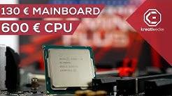 600 Euro PROZESSOR auf 130 Euro MAINBOARD ?! Geht das? i9 9900k VS MSI MPG Z390 Gaming Plus