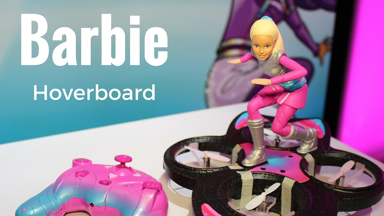 new barbie hoverboard by mattel